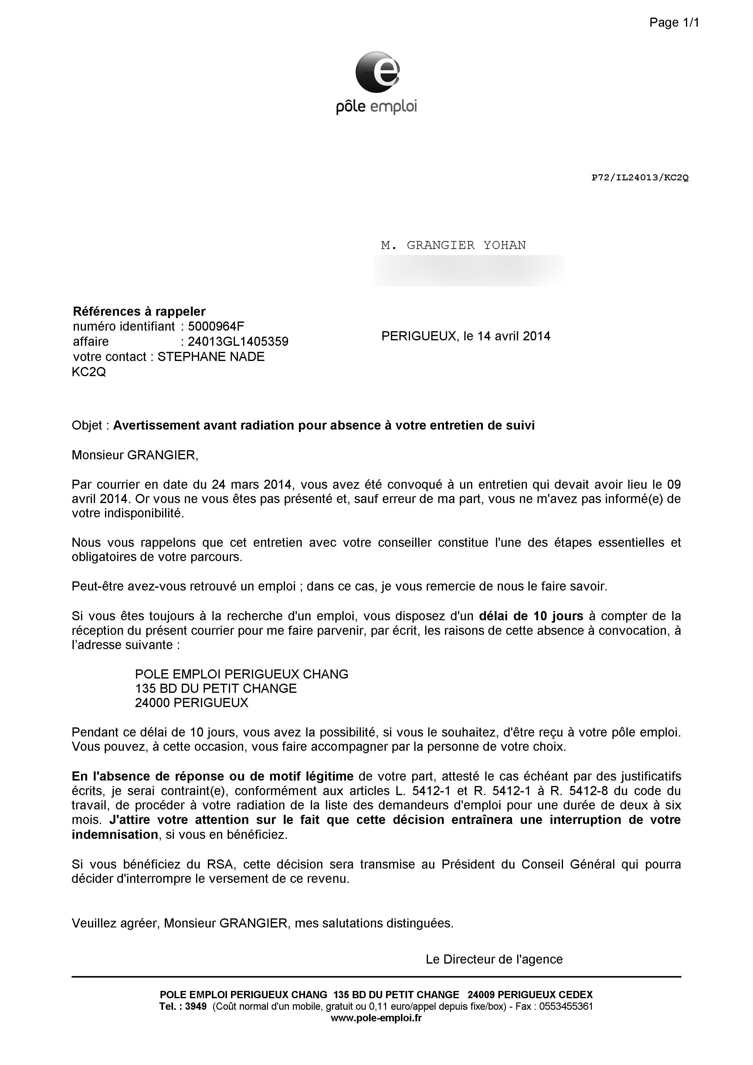 Radiation Toujours Moi Yohan Grangier 36 Ans Pas Plus Con Qu Un